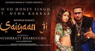 SAIYAAN JI LYRICS – Yo Yo Honey Singh x Neha Kakkar | NewLyricsMedia.Com