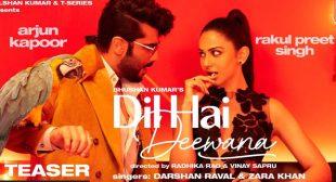 Dil Hai Deewana Lyrics – Darshan Raval