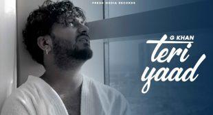 Teri Yaad Lyrics – G Khan
