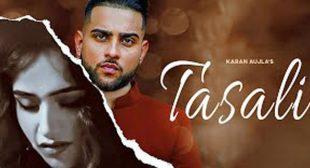 Tasali Jhooth Lyrics – Karan Aujla