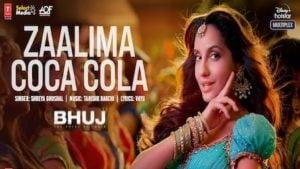 Zalima Coca Cola Lyrics