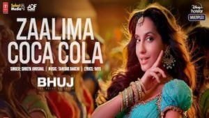 Zalima Coca Cola Lyrics – Bhuj